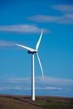 Turbina eólica escocesa Fotos de Stock Royalty Free