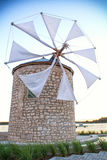 Turbina eólica, moinho de vento Imagem de Stock Royalty Free