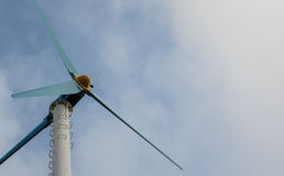 Turbina eólica para a energia Imagem de Stock Royalty Free