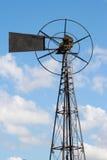 Turbina eólica velha do metal Imagens de Stock Royalty Free