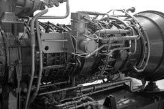 Turbina a gas fotografie stock