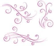 Turbina i disegni floreali Immagini Stock