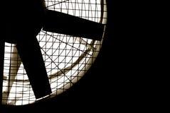 Turbina industrial do ventilador imagem de stock