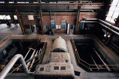 Turbina Inside węgla elektrownia Indiana - Indiana wojska Amunicyjna zajezdnia - fotografia royalty free