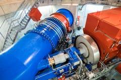 Turbina moderna foto de archivo libre de regalías