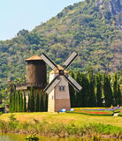Turbina przy ogródem w Tajlandia Fotografia Royalty Free