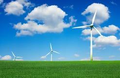 turbina śródpolny wiatr Fotografia Stock