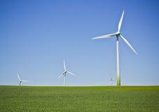 turbina śródpolny wiatr obraz royalty free