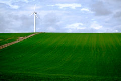 turbina śródpolny wiatr Zdjęcie Stock
