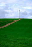 turbina śródpolny wiatr Obrazy Stock