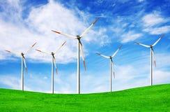 turbina rolny wiatr Obraz Stock