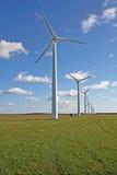 turbina rolny wiatr Zdjęcia Stock