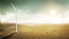 turbina wiatr Zdjęcie Stock