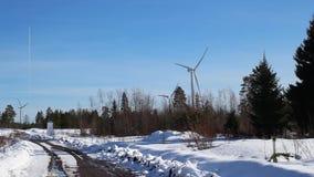 Turbina z rzędu zdjęcie wideo