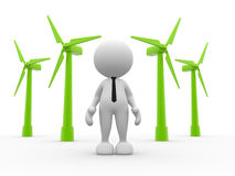 Turbinas ilustração stock