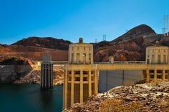 Turbinas da barragem Hoover Imagens de Stock Royalty Free