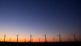 Turbinas das energias eólicas Imagens de Stock Royalty Free