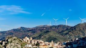 Turbinas de Eolic Fotografia de Stock