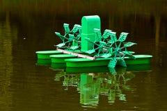 Turbinas de las aguas residuales Fotografía de archivo libre de regalías
