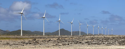 Turbinas de vento Foto de Stock