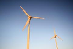 Turbinas de vento Foto de Stock Royalty Free