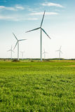 Turbinas de vento Imagem de Stock Royalty Free