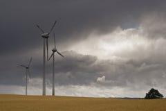 Turbinas de vento Imagem de Stock