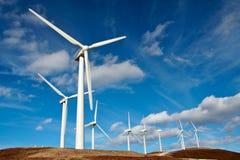 Turbinas de vento Fotografia de Stock Royalty Free