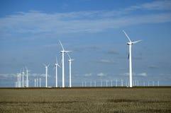 Turbinas de vento 8 Fotografia de Stock Royalty Free