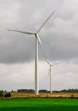 Turbinas de viento Imágenes de archivo libres de regalías