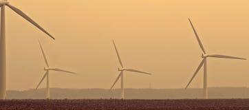 Turbinas de viento Fotos de archivo