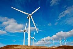 Turbinas de viento Imagen de archivo