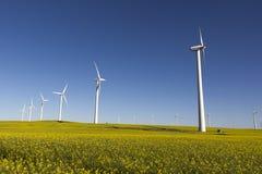 Turbinas de viento Imagenes de archivo