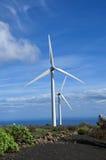 Turbinas de viento Fotografía de archivo libre de regalías