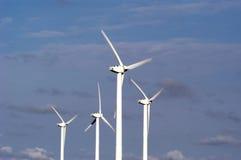 Turbinas de viento 59 imagen de archivo libre de regalías
