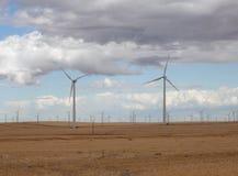 Turbinas de viento de Oregon 5 Imágenes de archivo libres de regalías