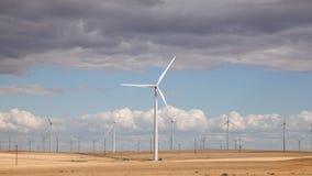 Turbinas de viento de Oregon 1 Imagen de archivo