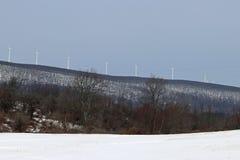 Turbinas de viento múltiples Fotos de archivo