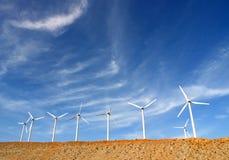 Turbinas de viento, Palm Spring, California, los E.E.U.U. Fotografía de archivo libre de regalías