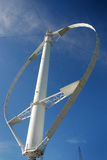 Turbinas de viento verticales Foto de archivo