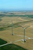 Turbinas del molino de viento Imágenes de archivo libres de regalías