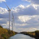 Turbinas eólicas Fotografia de Stock Royalty Free