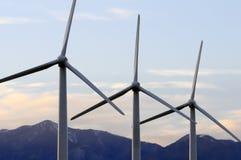 Turbinas eólicas Imagem de Stock