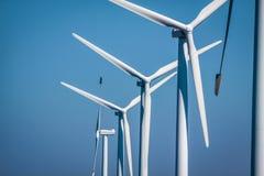 Turbinas eólicas Imagem de Stock Royalty Free