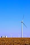 Turbinas eólicas Imagens de Stock Royalty Free