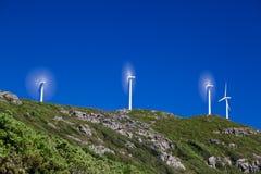 Turbinas eólicas Fotos de Stock