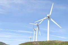 Turbinas eólicas Foto de Stock