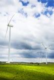 Turbinas eólicas em Ragusa Imagem de Stock