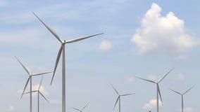 Turbinas eólicas que geram a eletricidade filme