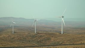 Turbinas eólicas, Rolling Hills WA, EUA 4K UHD video estoque